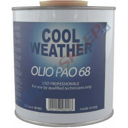 Olej do klimatyzacji PAO 68 0,5L z kontrastem