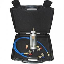 Tester jakości oleju klimatyzacji wewnątrz układu