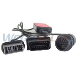 Texa przewód diagnostyczny CAR ASIA 3151/C16A NISSAN 14 pin + 16 pin OBD