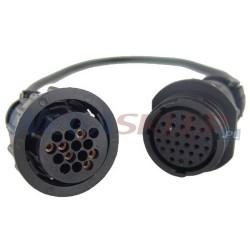 Texa przewód diagnostyczny TRUCK 3151/T10A DAF 16 pin dla pojazdów Euro2 i Euro3