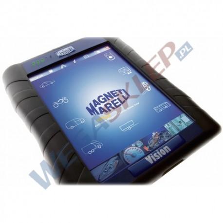 Tester elektroniki Vision Magneti marelli z oprogramowaniem do samochodów osobowych i dostawczych