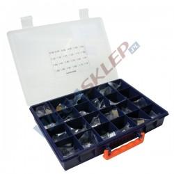 Zestaw podkładek kompensacyjnych średnica 9,4 mm grubość od 0,8 do 1,95 mm co 0,05 mm