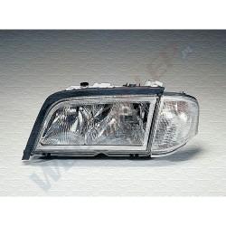 Reflektor przedni + kierunkowskaz l Mercedes Benz Serie C (202) 09.1996   04.2000