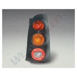 Lampa tylna z czarna pokrywą Mcc Smart 10/98