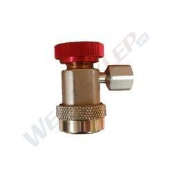 Szybkozłączka wysokiego ciśnienia HP do czynnika R1234yf (gwint żeński M12x1,5)