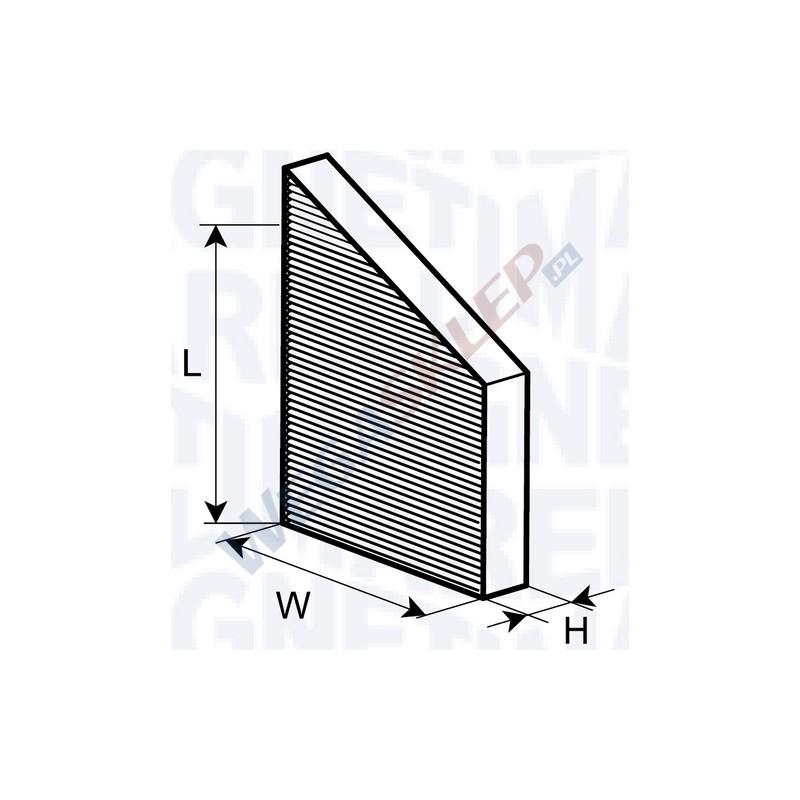 filtr kabinowy magneti marelli cz steczkowy standard. Black Bedroom Furniture Sets. Home Design Ideas