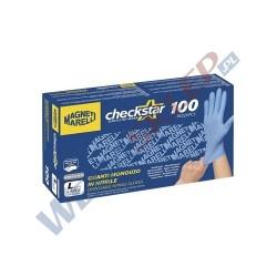 Warsztatowe rękawiczki ochronne z nitrylu L 100 szt.