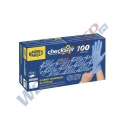 Warsztatowe rękawiczki ochronne z nitrylu M 100 szt.