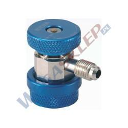 Szybkozłączka niskiego ciśnienia VALUE LP do R134a z gwintem zewnętrznym 1/4 cala