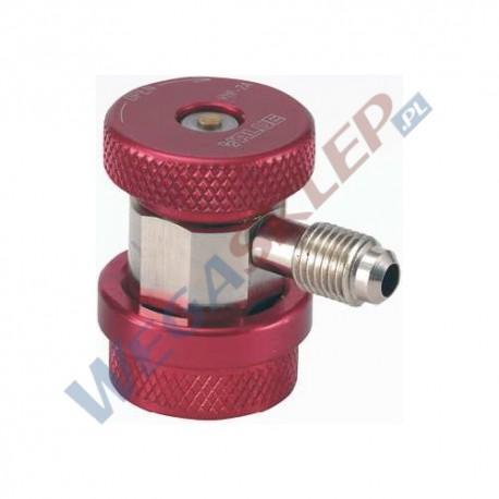 Szybkozłączka wysokiego ciśnienia VALUE HP do R134a z gwintem zewnętrznym 1/4 cala