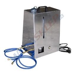 Elektryczne urządzenie do płukania układów klimatyzacji