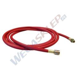 """Przewód czerwony 4000 mm do czynnika R1234Yf 1/4""""SAE X1234Yf"""