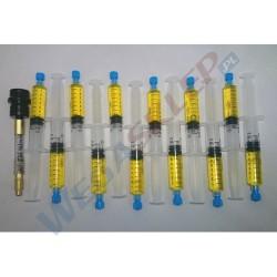 Kontrast UV w strzykawce do czynnika 1234yf + przewód 12 szt