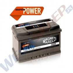 Akumulator 12V 75Ah 630A(EN) +Prawy RUN75JR