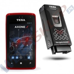 Texa tester Axone S + Navigator Nano S z oprogramowaniem CAR IDC5A