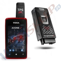 Texa tester Axone S + Navigator Nano S + TPS Key z oprogramowaniem FAST-FIT IDC5A