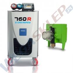 Stacja klimatyzacji KONFORT 760R 2 GAS READY + analizator gazu do R134a