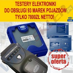 Testery Magneti Marelli LOGIC + ASIAN CONNECT EVO w super cenie
