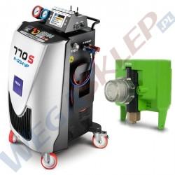 Stacja klimatyzacji KONFORT 770S R1234yf + analizator gazu