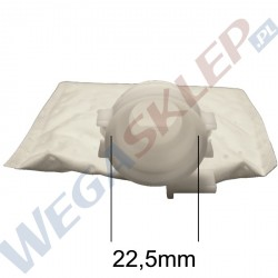 Filtr pompy paliwa 22.5mm 90 prostokątny