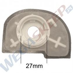 Filtr pompy paliwa 27mm półokrągły