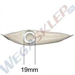 Filtr pompy paliwa 19mm prostokątny