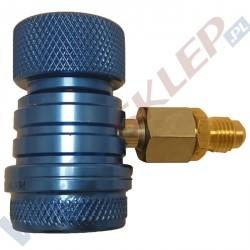 Szybkozłączka Value R1234YF LP niskiego ciśnienia z redukcją na 1/4 cala