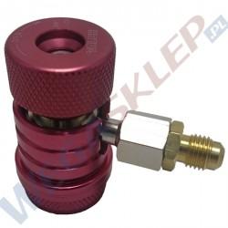 Szybkozłączka Value R1234YF HP wysokiego ciśnienia z redukcją na 1/4 cala