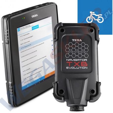 Tester diagnostyczny TEXA AXONE 5 + Navigator TXB BIKE