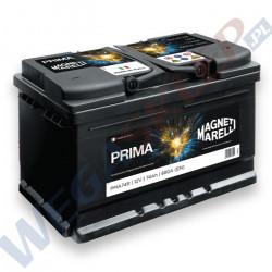 Akumulator 12V 55AH 470A PRIMA PMA55R biegun prawy