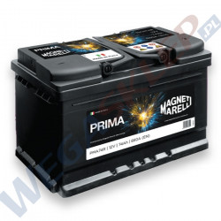 Akumulator 12V 55AH 470A PRIMA PMA55L biegun lewy
