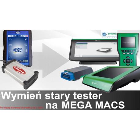 Promocja WANTED na Mega Macs wymiana testera mega macs 77