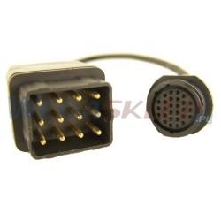 Texa przewód diagnostyczny TRUCK 3151/T04A RENAULT TRUCK 12 pin dla pojazdów Euro2 i Euro3