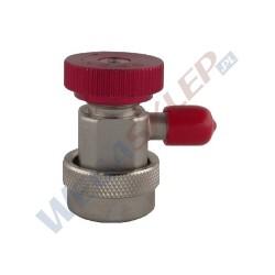 Szybkozłączka wysokiego ciśnienia HP do R134a z gwintem zewnętrznym 1/4 cala 16mm