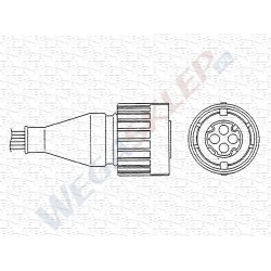 Sonda lambda cyrkonowa OZA572 E12 BMW