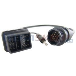 Texa przewód diagnostyczny CAR ASIA 3151/C23 TOYOTA i LEXUS druga seria 17 pin