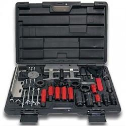 Zestaw narzędzi do demontażu sprężarki i elementów sprężarki pełny